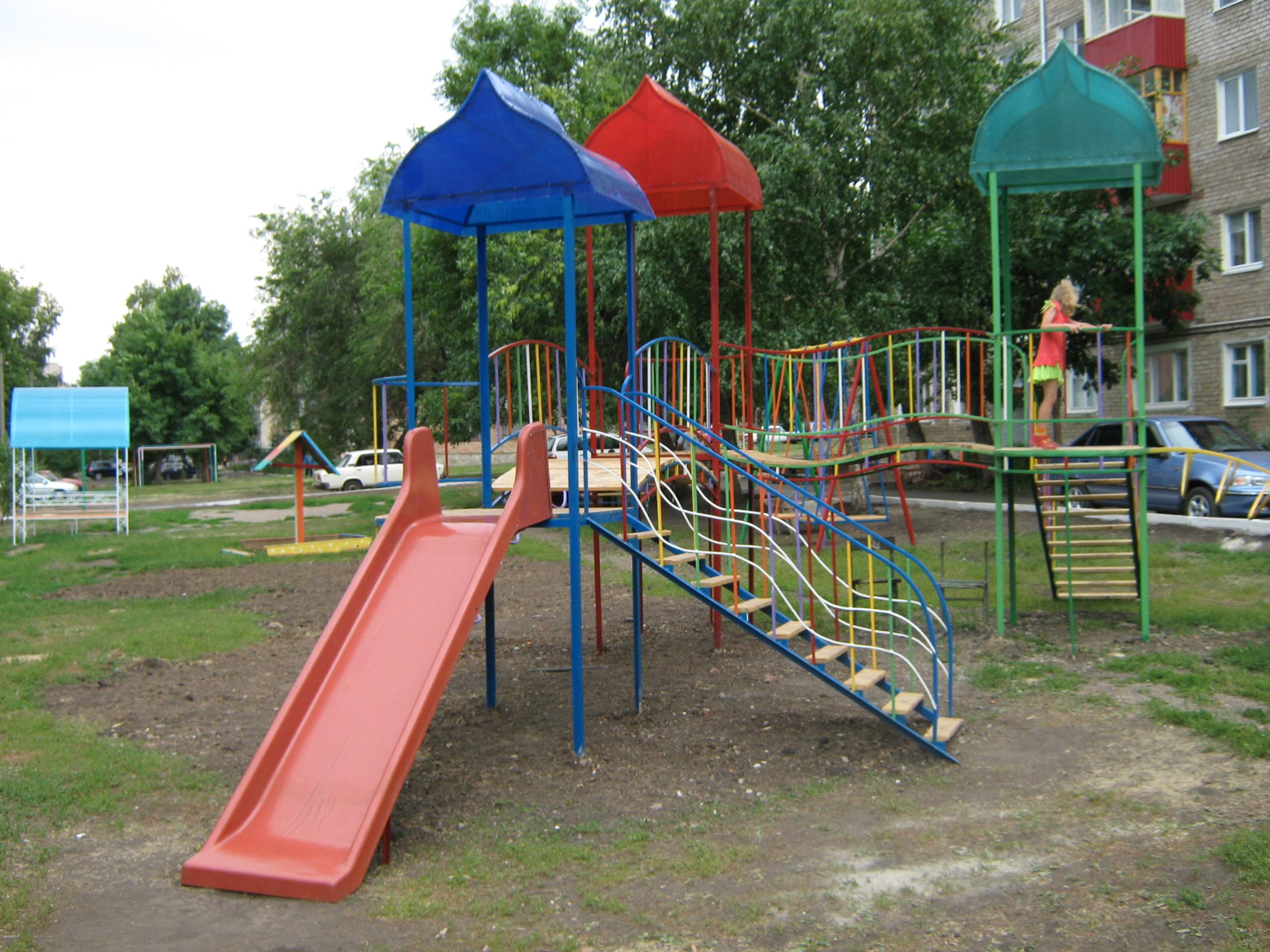 Оборудование для детские площадки рязань